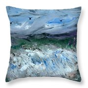 Gale Winds Throw Pillow
