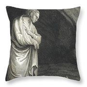 Galen, Greek Physician And Philosopher Throw Pillow