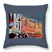 Galena On A Perfect Day Throw Pillow