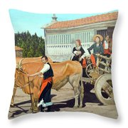 Galicia La Nostalgica Throw Pillow
