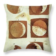 Galileo - Moon Throw Pillow