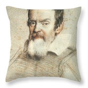 Galileo Galilei Throw Pillow