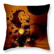 Galileo's Muse Throw Pillow