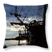 Galleon Throw Pillow