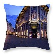 Gallerija Emporium Luxury Department Store In The Urbanc House O Throw Pillow