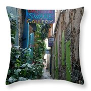 Gallery Alley Throw Pillow
