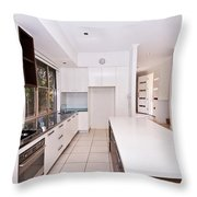 Galley Kitchen Throw Pillow