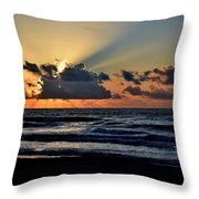 Galveston Tx 337 Throw Pillow