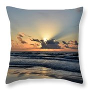 Galveston Tx 340 Throw Pillow