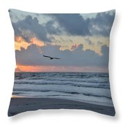 Galveston Tx 345 Throw Pillow