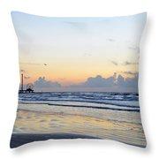 Galveston Tx 346 Throw Pillow