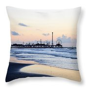 Galveston Tx 348 Throw Pillow