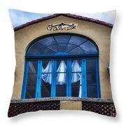 Galvex Throw Pillow