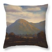 Galway Landscape Throw Pillow