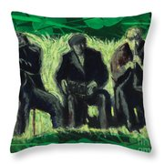 Galway Pipeband Throw Pillow