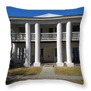 Gamble Mansion Parrish Florida Throw Pillow