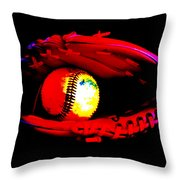 Game Night Throw Pillow