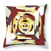 Game Of Shapes Throw Pillow