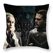 Game Of Thrones. Throw Pillow