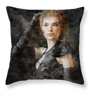 Game Of Thrones. Cersei Lannister. Throw Pillow