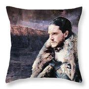 Game Of Thrones. Jon Snow. Throw Pillow