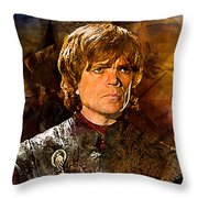 Game Of Thrones. Tyrion Lannister. Throw Pillow