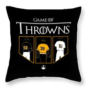 Game Of Throwns Throw Pillow