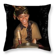 Gamelan Throw Pillow