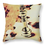 Games And Puzzles Throw Pillow