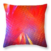 Gamma Rays Throw Pillow