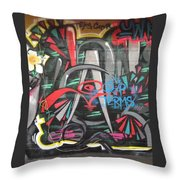 Ganda Throw Pillow
