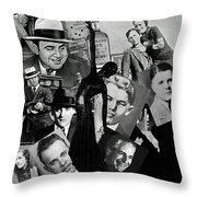 Gangland Throw Pillow