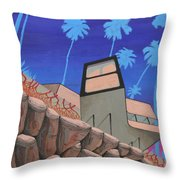 Ganglion Vines Throw Pillow