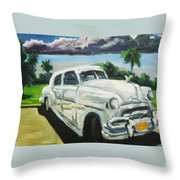 Gangsters On Vacation  Throw Pillow