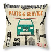 Garage Special-jp3483 Throw Pillow