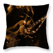 Garciart #14 In Amber With A Twist Throw Pillow