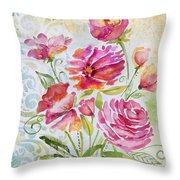 Garden Beauty-jp2957 Throw Pillow