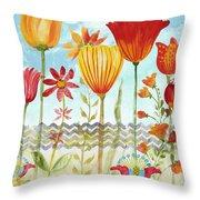 Garden Beauty-jp2960 Throw Pillow