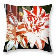 Garden Beauty Work Number 30 Throw Pillow