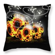 Garden Beginnings Throw Pillow