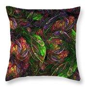 Garden Bright  Throw Pillow