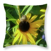 Garden Buffet Throw Pillow
