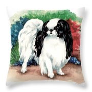 Garden Chin Throw Pillow