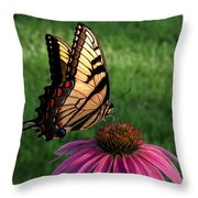 Garden Dancer Throw Pillow