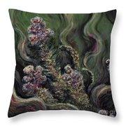 Garden Delights Throw Pillow