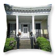 Garden District 15 Throw Pillow