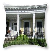 Garden District 16 Throw Pillow