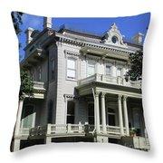 Garden District 18 Throw Pillow