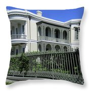 Garden District 41 Throw Pillow