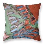 Garden Dream Tile Throw Pillow